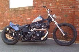 2003 hd softail twincam night train bobber motorbike motorcyclez