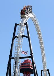 Six Flags X2 Photos Of Six Flags Magic Mountain Theme Park Tourist