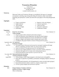 Interpersonal Skills List Resume Spectacular Idea Production Resume 8 Format Production Sample