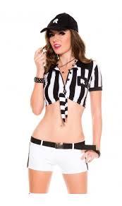 Football Referee Halloween Costume Nascar Costumes Female Baseball Costumes Female Football