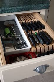 kitchen cabinet knife drawer organizers iheart organizing it s here the kitchen cabinet tour