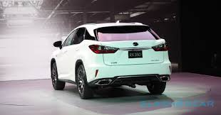 lexus singapore new car this is the 2016 lexus rx slashgear
