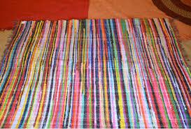 Fabric Rug With Soul Rag Rug