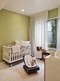 curtain rail track with drapes nursery midcentury and modern baby