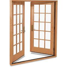 Inswing Patio Door Furniture Essence Wood Inswing Patio Doors Winsome 13
