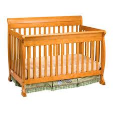 Davinci Kalani Convertible Crib Kalani 4 In 1 Convertible Crib Honey Oak Toddler Rail Included