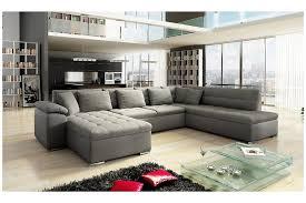 canape et salon canapé d angle convertible en u alta iv design
