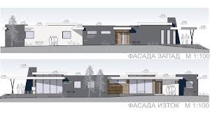 architectural project of multi family house building in burgas lozovo