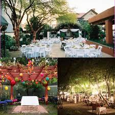 backyard wedding ideas summer outdoor summer wedding decoration