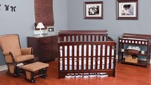 nursery cherry wood furniture u0026 wall color
