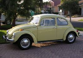 looks like my very first car 1970 vw bug except primered black