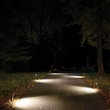 How To Install Stair Lights by Outdoor Walkway Lighting Mr Beams Led Path Lights