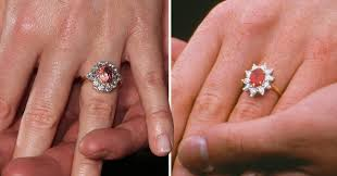 engaged ring princess eugenie s engagement ring is just like ferguson s