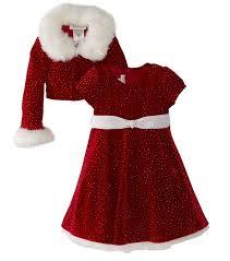 fur christmas bonnie jean christmas dress velvet sparkle dress