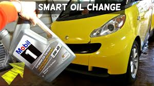 smart car oil change 1 0 3 cylinder smart fortwo passion for two