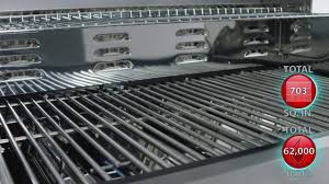dyna glo dge530ssp d 5 burner stainless steel lp gas grill youtube
