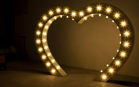 wedding arch lights the big heart stunning backdrop wedding arch or photo