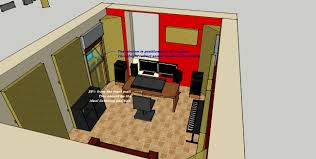 ultimate home recording studio design plans about small home