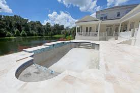 travertine pavers a cool choice for your pool deck pool pricer