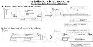 how to convert to led lights homey idea convert fluorescent light fixture to led delightful