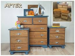 Bedroom Set Handles Boring Orange Bedroom Set Transformed With Annie Sloan Aubussom