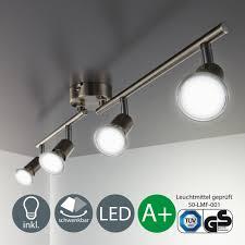 Wohnzimmerlampe Grau Amazon De B K Licht Deckenleuchten