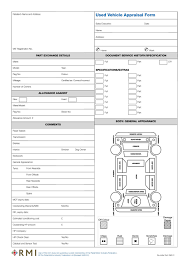 Free Car Bill Of Sale Printable rmi forms standard supplied with space for you to fill in pmm0016