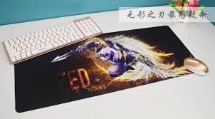 Gaming Desk Pad Gaming Mouse Pad Keyboard Pad Thick Oversized Custom Desk Pad