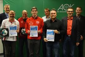Aok Bad Neustadt Unterfrankens Fairste Jugendfussballteams Wurden In Diesem Jahr In