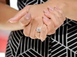 grace engagement ring holy halo from guess the engagement ring e news