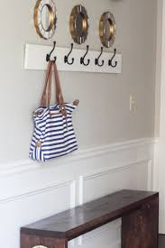 Anchor Furniture To Wall How To Build A Wall Mounted Coat Rack Erin Spain