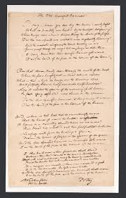 How Many Star On The American Flag First Drafts U201cthe Star Spangled Banner U201d Library Of Congress Blog