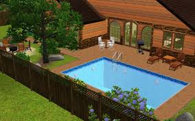 Idea For Backyard Landscaping by The Sims 3 Room Build Ideas And Examples