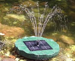 solar powered water fountain ideas solar powered water fountain