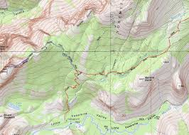 Yosemite Valley Map Jmt Day 3 Up Half Dome To Sunrise Gipfelrast At