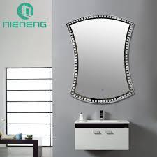 Bathroom Heated Mirrors Nieneng Illuminated Demist Lighted Vanity Make Up Heated Mirror