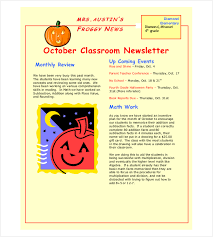 weekly newsletter template weekly newsletter templates for