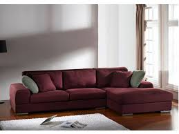 canapé d angle prune canapé d angle tissu déhoussable passodoble prune angle droit