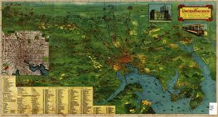 Baltimore City Map Railway Map Of Baltimore 1910