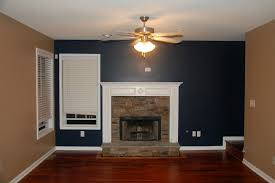 Dark Blue Accent Wall by A Quick Tour Around Our New House Sweet Tea U0026 Saving Grace