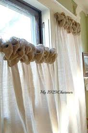 kitchen curtain ideas diy diy burlap curtain ideas burlap curtain ideas burlap trim drop