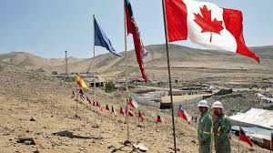 Chilian Flag Canadian Effort To Reach Trapped Chilean Miners Lagging The