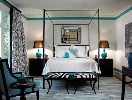 Black And White Zebra Print Bedroom Ideas Small 20 Turquoise And Black Bedroom Ideas On 15 Photos Of The