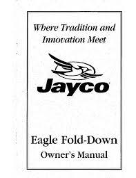 1999 jayco eagle wiring diagram jayco owner u0027s manual jayco