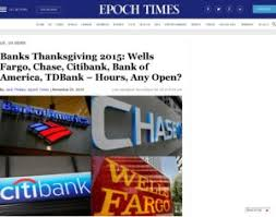 thanksgiving bank of america hours divascuisine
