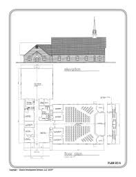 Small Church Building Floor Plans Home Design Ideas Amazing by Small Church Building Plans Church Plan 129 Lth Steel