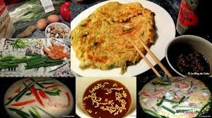 cuisine cor馥nne recette le de cata haemul pajeon crêpe coréenne aux fruits de mer