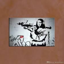 modern classical banksy wall art picture home decoration painting