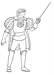 prince charming edward enchanted coloring pages prince