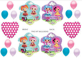 lalaloopsy party supplies lalaloopsy happy birthday party balloons decorations